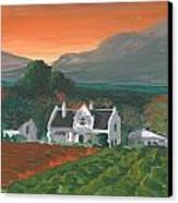 Mainhouse Petite Canvas Print by DC Decker
