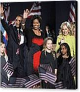 Malia Obama, U.s. President Elect Canvas Print by Everett
