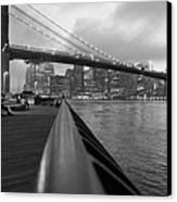 Manhattan Bridge Canvas Print by Nina Mirhabibi