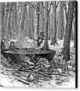 Maple Syrup, 1877 Canvas Print by Granger