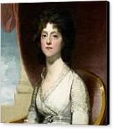 Marianne Ashley Walker Canvas Print by Gilbert Stuart