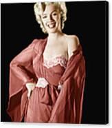 Marilyn Monroe, 1950s Canvas Print by Everett