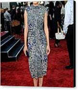 Marion Cotillard Wearing An Elie Saab Canvas Print by Everett