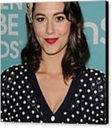 Mary Elizabeth Winstead In Attendance Canvas Print by Everett