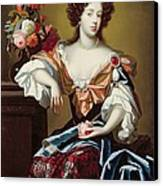 Mary Of Modena  Canvas Print by Simon Peeterz Verelst