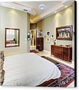 Master Bedroom Canvas Print by Skip Nall