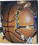 Masters Of The Game Canvas Print by Billy Leslie