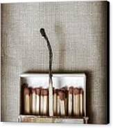 Matches Canvas Print by Joana Kruse