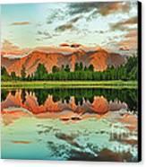 Matheson Lake Canvas Print by MotHaiBaPhoto Prints