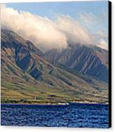 Maui Pano Canvas Print by Scott Pellegrin