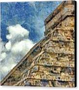 Mayan Mysteries Canvas Print by Jeff Kolker