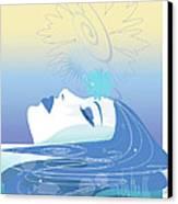Meditation Canvas Print by Lisa Henderling