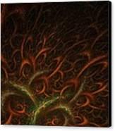 Medusa Canvas Print by Lourry Legarde