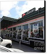 Mel's Drive-in Diner In San Francisco - 5d18041 Canvas Print by Wingsdomain Art and Photography
