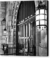 Memorial Hall Entrance Canvas Print by Steven Ainsworth