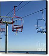Memories Of The Jersey Shore Canvas Print by John Van Decker