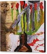Menorah Canvas Print by Iris Gill