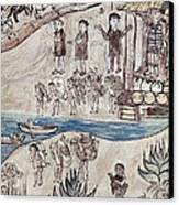 Mexico Indians C1500 Canvas Print by Granger