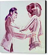Michael Jackson - Just Can't Stop Loving You Canvas Print by Hitomi Osanai