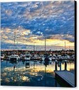 Mindarie Sunrise Canvas Print by Imagevixen Photography