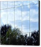 Mirrored Facade 1 Canvas Print by Stuart Brown