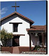 Mission Francisco Solano - Downtown Sonoma California - 5d19295 Canvas Print by Wingsdomain Art and Photography