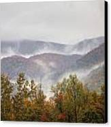 Misty Morning I Canvas Print by Charles Warren