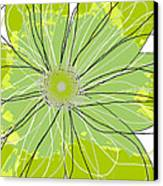 Moda Flower Mix I  Canvas Print by Ricki Mountain