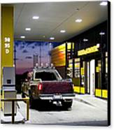 Modern Gas Station Canvas Print by Jaak Nilson