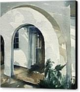 Mombasa Archway Canvas Print by Stephanie Aarons