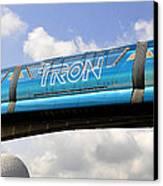 Mono Tron Canvas Print by David Lee Thompson