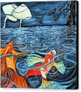 Moonlight Rendezvous Canvas Print by Lesley Smitheringale