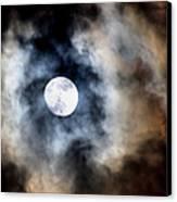 Moonshine Canvas Print by Karen M Scovill