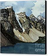 Moraine Lake Canvas Print by Scott Nelson
