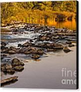Morning Reflections Canvas Print by Robert Bales