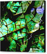 Mother Earth Canvas Print by Yvon van der Wijk