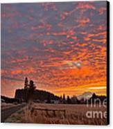 Mount Rainier Dawn Canvas Print by Sean Griffin