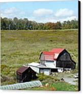 Mountain Farm Canvas Print by John Turner