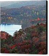 Mountain Lake Canvas Print by Michael Waters