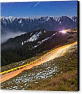 Mountain Road Canvas Print by Higrace Photo