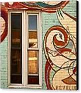 Mu Wall Canvas Print by Aimelle