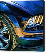 Mustang Canvas Print by Robert Smith