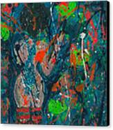 My Teal Tart Canvas Print by Annette McElhiney