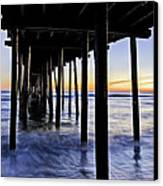 Nags Head Pier - A Different View Canvas Print by Rob Travis