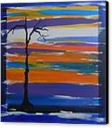 Naked Canvas Print by Lynne Bishop