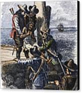 Native American Slave Canvas Print by Granger