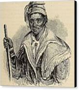 Negro Abraham Was An African Seminole Canvas Print by Everett