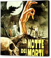 Night Of The Living Dead, Aka La Notte Canvas Print by Everett
