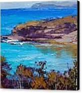 Norah Head Central Coast Nsw Canvas Print by Graham Gercken