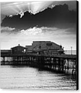 North Pier Canvas Print by Aetherial Pictography